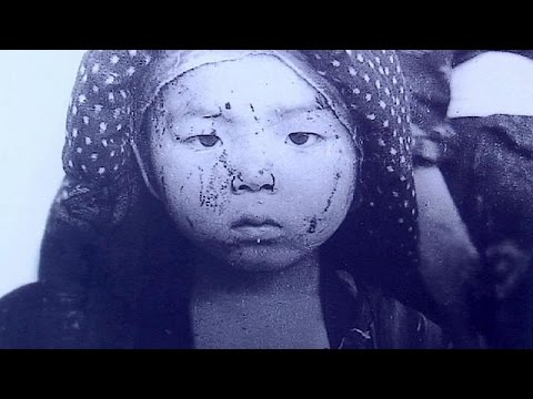 نمایشگاه بمباران اتمی هیروشیما و ناکازاکی در آمریکا - YouTube