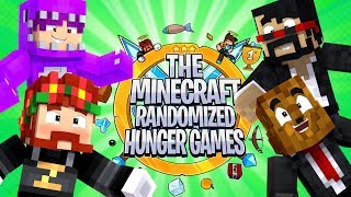 Minecraft - 4-Player (VERSION 2) Randomized Hunger Games | JeromeASF
