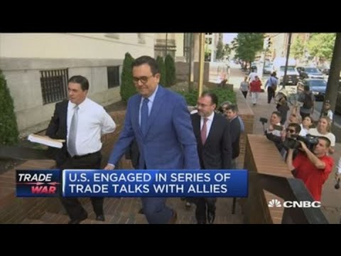 US engaged in series of trade talks with allies