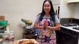 แกงไก่ ปิ้งไส่หน่แย้/Naly's Lao Kitchen.