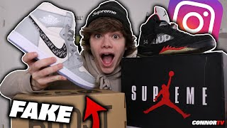 I Lowballed and Bought the Most Expensive FAKE Sneakers! Dior Jordan 1
