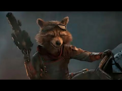 Rocket Raccoon - Fight Compilation & Trigger Happy Moments [HD]