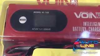 VOIN VL 143 интеллектуальное зарядное устройство с дисплеем смотреть