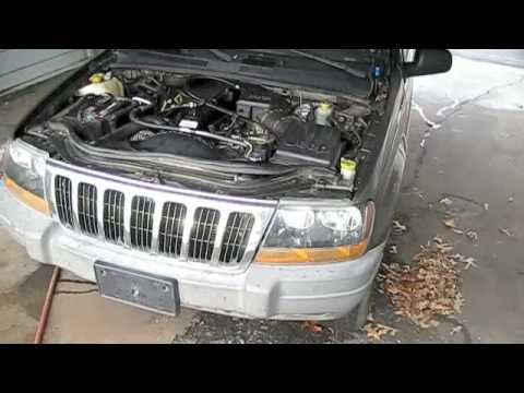 jeep grand cherokee w blown engine start up exhaust and tour youtube. Black Bedroom Furniture Sets. Home Design Ideas