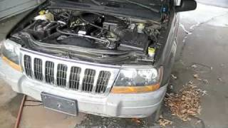 Jeep Grand Cherokee w/ Blown Engine Start Up, Exhaust, and Tour