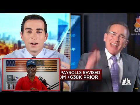 Rick Santelli DESTROYS CNBC Host Over Virus Lockdowns!
