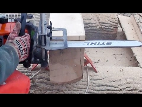 Logosol Timberjig Review 3 - Chainsaw Milling Day