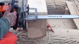 Logosol Timberjig Review 3 - Chainsaw Milling Day
