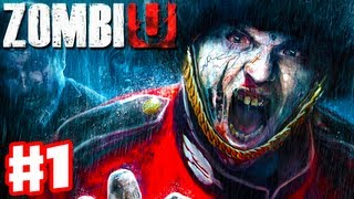 ZombiU - Gameplay Walkthrough Part 1 - Scary Zombie Horror! (Wii U Gameplay and Review)