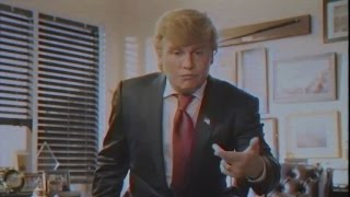 Johnny Depp Spoofs Donald Trump in Epic