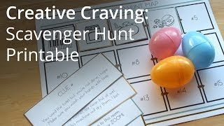 Creative Craving: Easter Egg Scavenger Hunt Printable