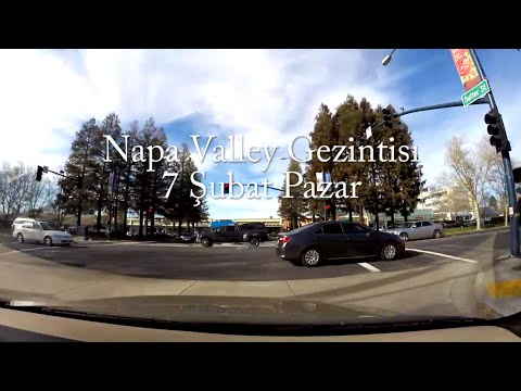 Vlog - California eyaletinin Napa sehrindeyiz