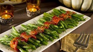Green Bean Bacon Bundles: Seawolf Living Friendsgiving