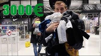FÜR ÜBER 3000€ FUSSBALL SACHEN KAUFEN !