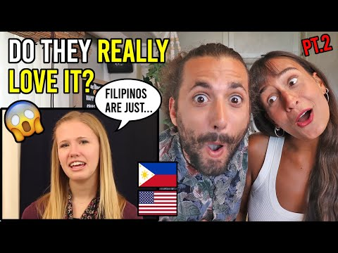 Do AMERICANS REALLY Love FILIPINO Culture? (PART 2)