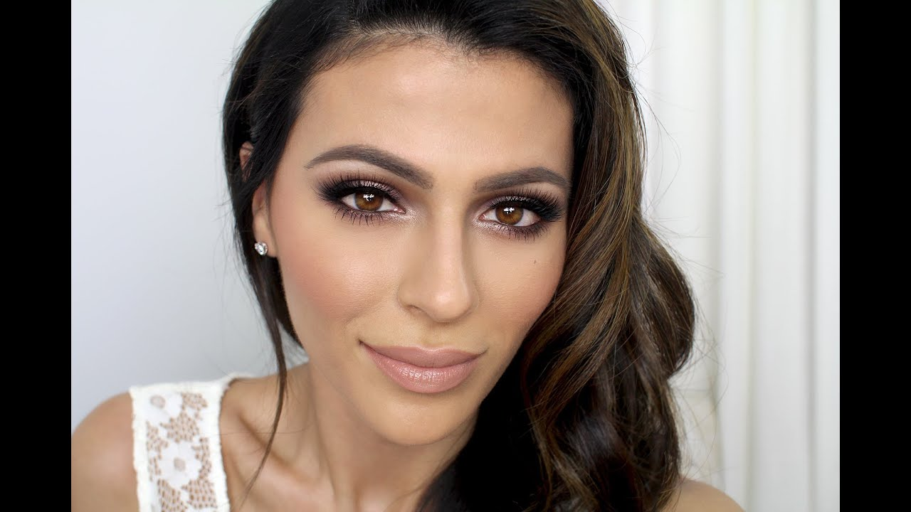 Natural Wedding Makeup For Hazel Eyes : Bridal Makeup Tutorial Makeup Tutorial Teni Panosian ...