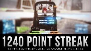 1240 Point Streak - Situational Awareness - Battlefield 3