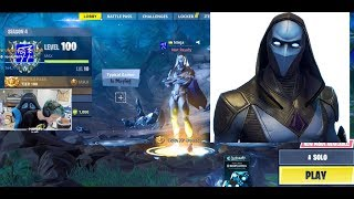 NINJA REACTS TO OMEN NEW SKIN FORTNITE! + Chat