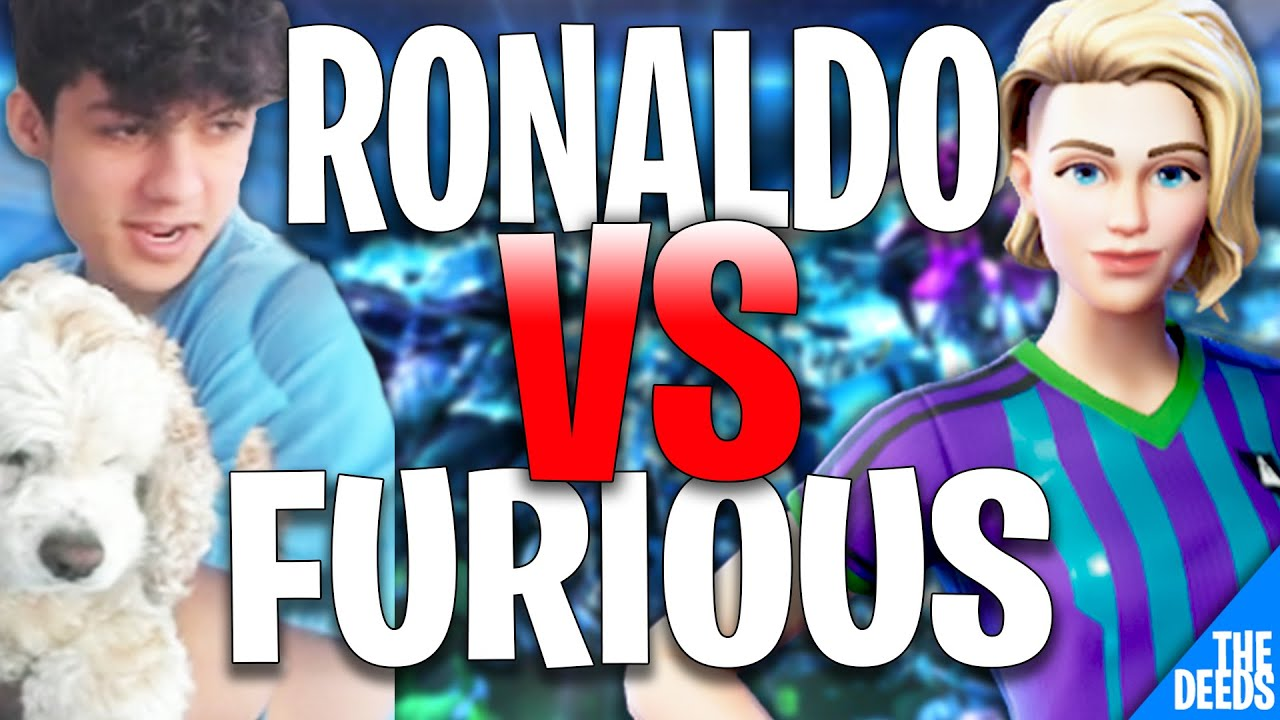 NRG Ronaldo Challenged FURIOUS to 1v1 Build Fight and This Happened | Fortnite Creative 1v1