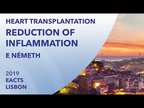 Reduction of inflammation in heart transplantation | Endre Németh | EACTS | 2019 | Lisbon