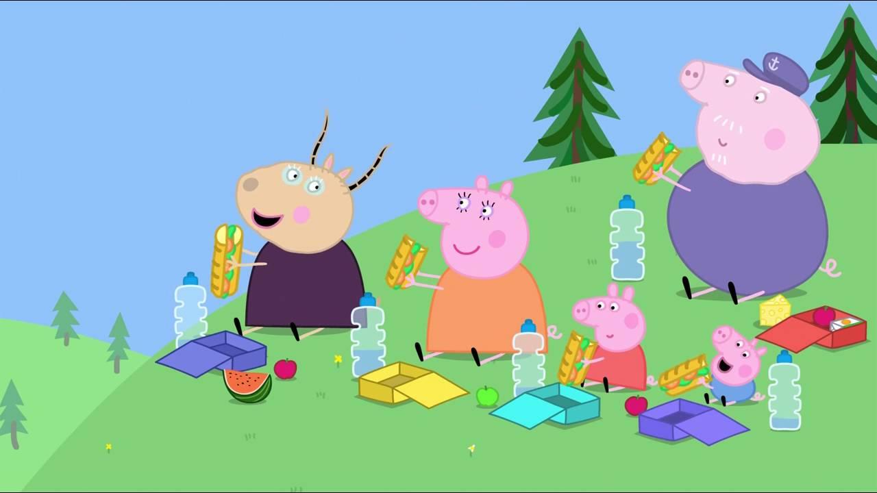 Peppa Pig - Fun Run (9 episode / 3 season) [HD]