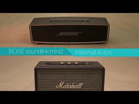BOSE soundlink mini2 vs Marshall Acton - Bluetooth Speaker