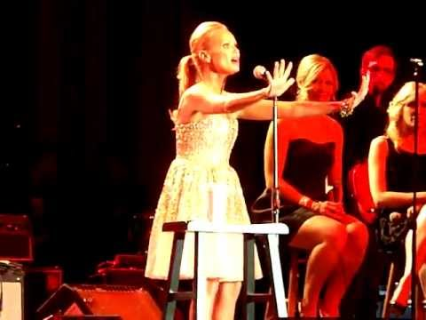 Kristin Chenoweth 'The Girl in 14G' LIVE at the Oklahoma Music Hall of Fame 11-10-11