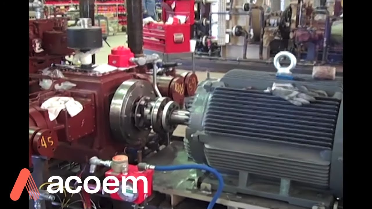 How To Make An Electric Motor >> 200 HP Electric Motor to Compressor Laser Shaft Alignment - YouTube