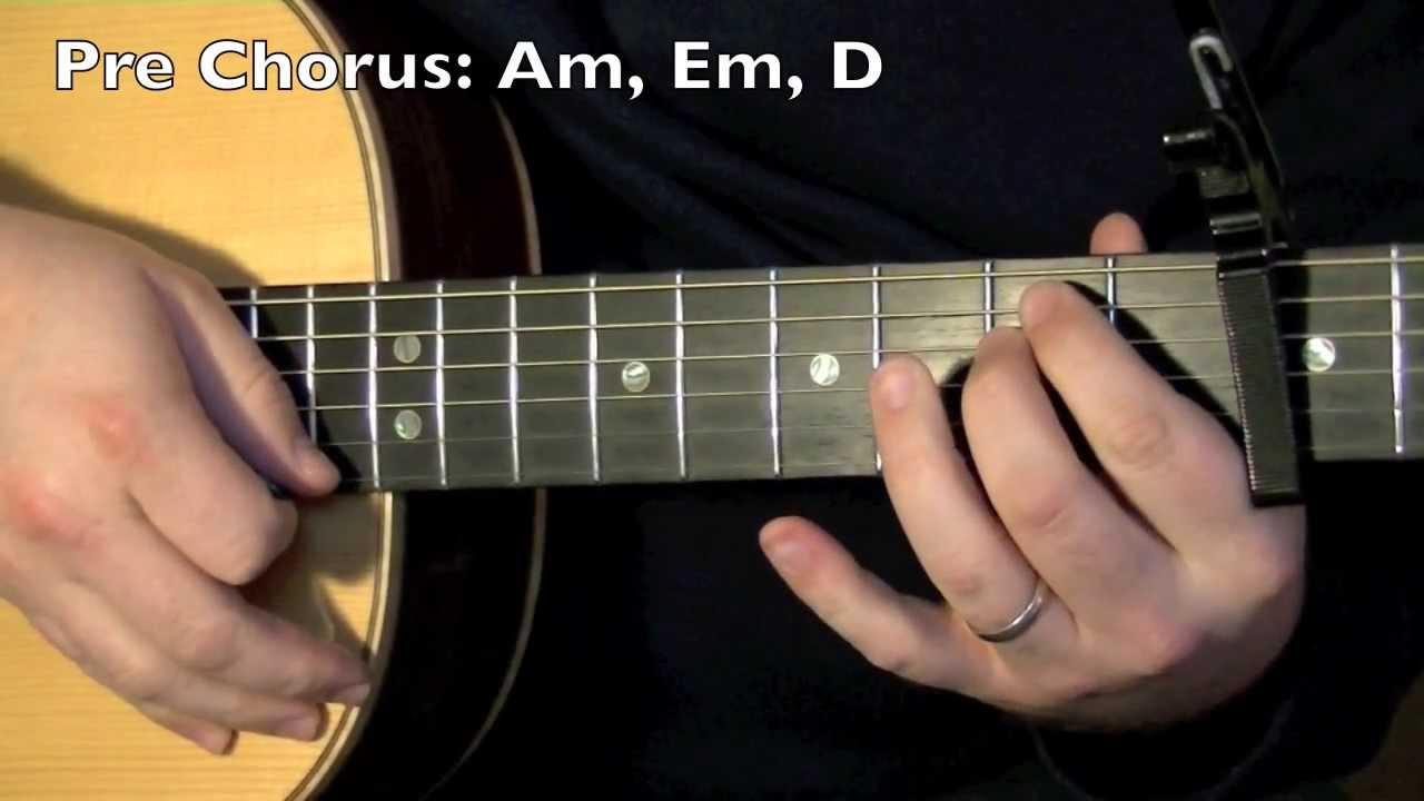 A Thousand Years Christina Perri Guitar Lesson Youtube