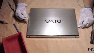 Sony Vaio T13 wymiana dysku SSD mSata