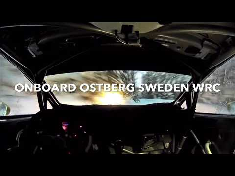 WRC RALLY SWEDEN OSTBERG ONBOARD 2018« TEST »