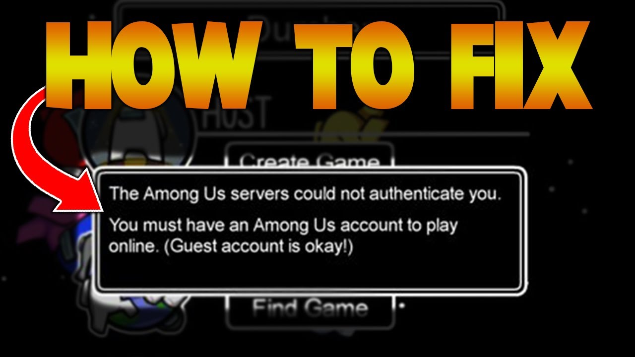Among Us Servers Could Not Authenticate Reviews – Read To Know The Details!