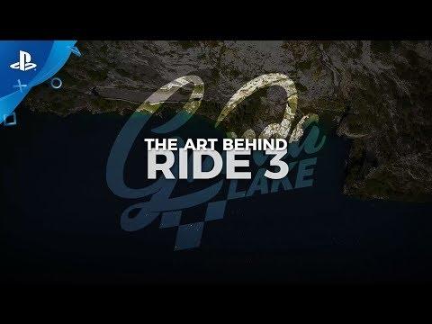 Ride 3 - The Art of Ride 3: Making Of Lake of Garda | PS4