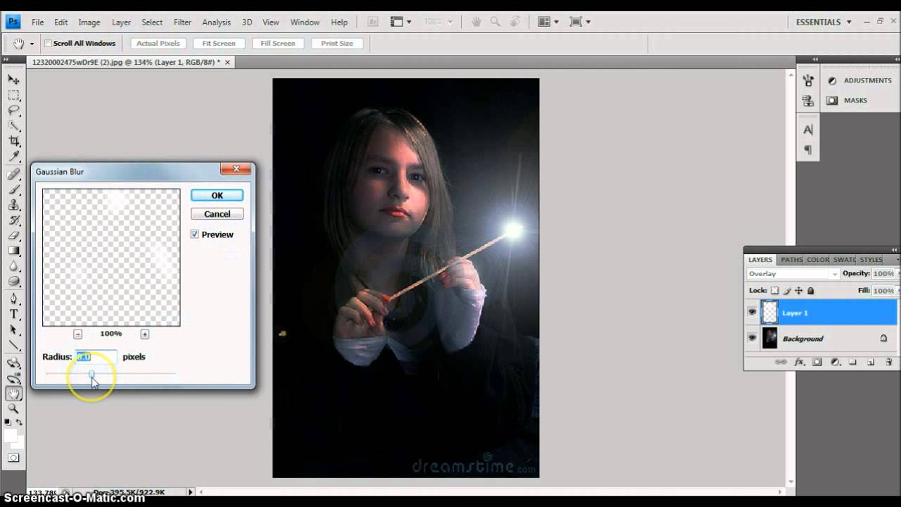 how to create wands in photoshop