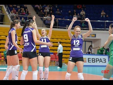 Volleyball Women's Champions League. Uralochka-NTMK (Russia) - Cannes (Cannes, France)