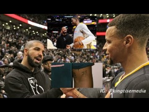 Drake Gets Tattoos Of Steph Curry & Kevin Durant