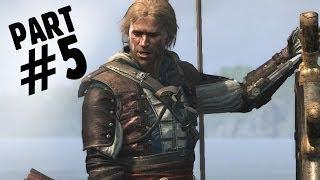 Assassin's Creed 4 Black Flag Walkthrough Part 5 - The Treasure Fleet 100% -  AC4 Let's Play
