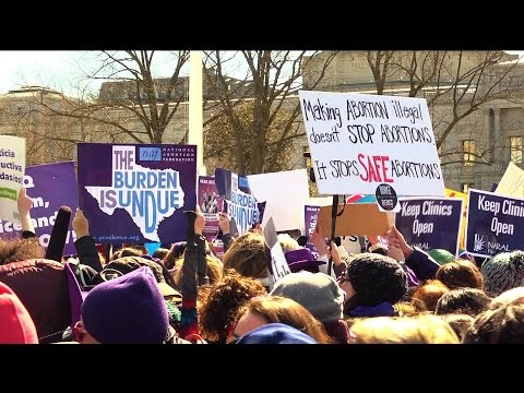 "Part 2: ""Stop the Sham"": Thousands Rally as SCOTUS Hears Biggest Abortion Case in a Generation"