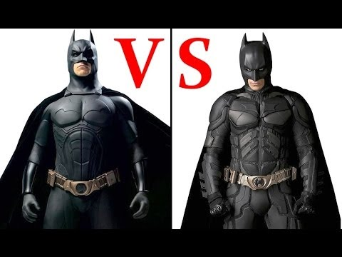 THE DARK KNIGHT TRILOGY. WHICH BATSUIT DO YOU PREFER?