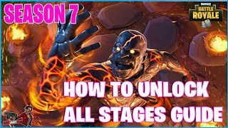 FORTNITE HOW TO UNLOCK ALL STAGES OF THE PRISONER SKIN