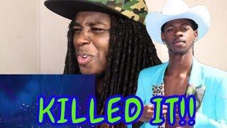 Reaction to Lil Nas X Panini Live VMA Performance