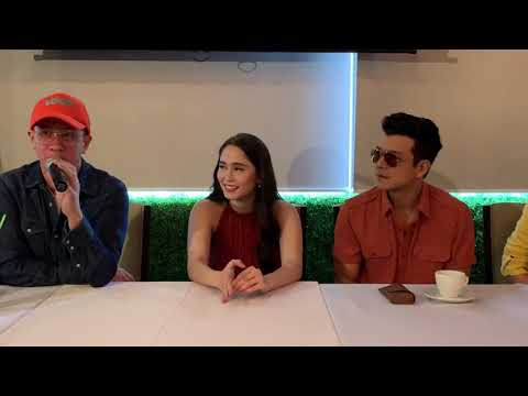 Jessy Mendiola cried during the presscon of THE GIRL IN THE ORANGE DRESS (watch till the end)