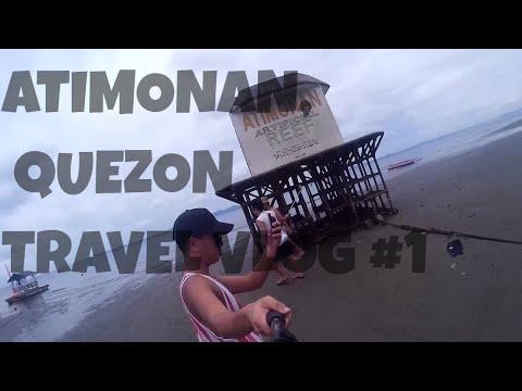 ATIMONAN, QUEZON | Travel Video #1 (De Gracia Beach Resort, Atimonan Artificial Reef)