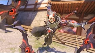 OVERWATCH ONI GENJI GAMEPLAY BY PRO PLAYER