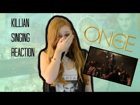 """OUAT REACTION AND REVIEW OF KILLIAN SINGING """"REVENGE IS GONNA BE MINE"""" 