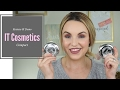 IT Cosmetics NEW Compact Foundation Review || Foundation Friday - Elle Leary Artistry