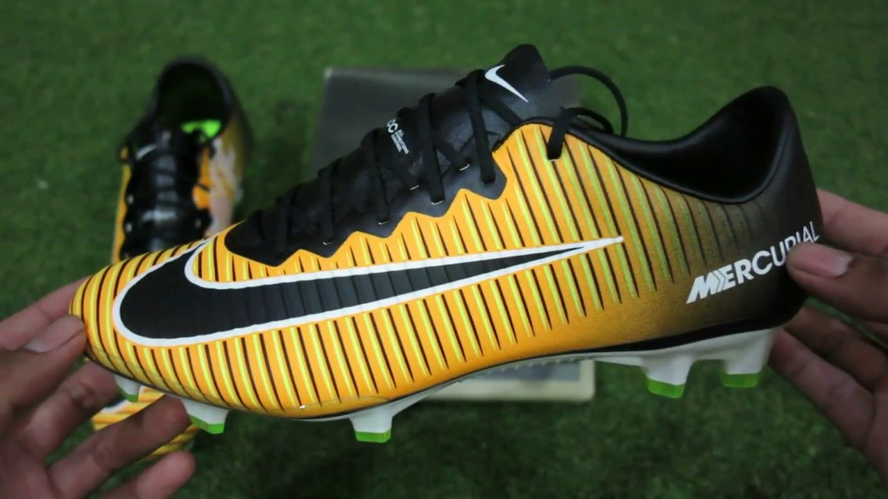 promo code bdda1 93f30 Unboxing nike mercurial vapor XI FG lock in let loose pack (Thai Version)