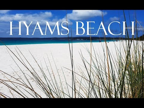 Hyams Beach has the whitest sand in the world