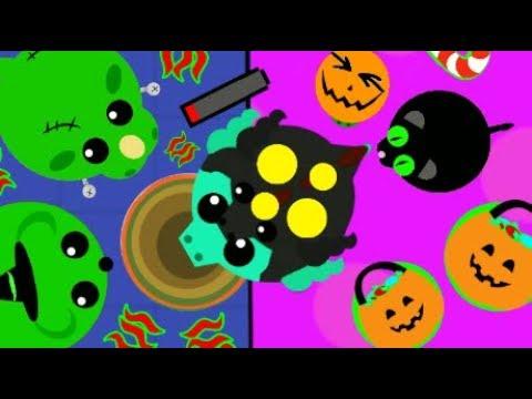 MOPE.IO BLACK FOX KILLS SCARY DRAGON! HALLOWEEN ANIMALS vs. ALL TROLLING + FAILS (Mope.io Gameplay)