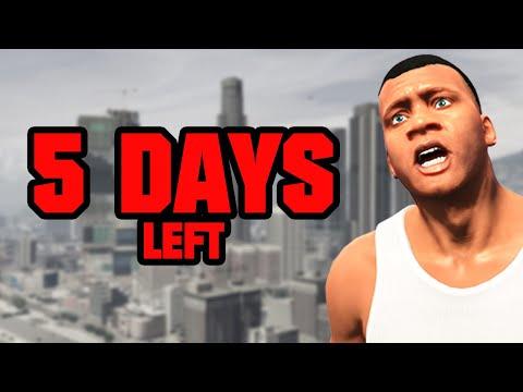 GTA 5 - CAN YOU SAVE LOS SANTOS? (5 Days Left)